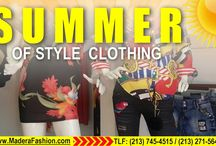 Madera Fashion is Summer Fashion / The summer fashion Madera Fashion has it at whosale prices