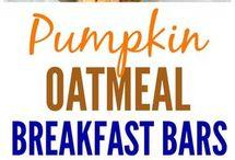 pumpkin breakfast bars