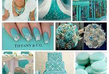 Turquois wedding
