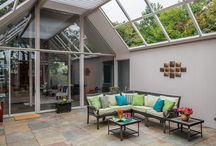 Eichler Atriums and Patios / Eichler homes feature stunning atriums and beautiful patios