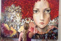 Monica Fernandez ~ mexican artist ~