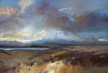 David Atkins / Wonderful luscious paint, confident strokes, perfect colour mixes