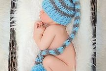 Newborn Basket Photos / Poses and ideas