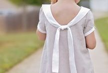 Kleid / Nesthäkchen Klejd mit tollem Kragen