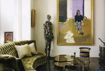 Velvet sofas / by Elizabeth Banks