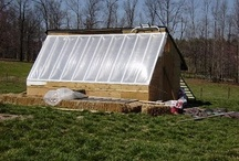 Passive Solar Greenhouses / Aesthetic and design considerations for the 12'x48' passive solar greenhouse I'm designing and building.
