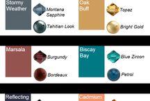 color / Színek, színharmóniák, színtrendek