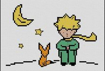 LITTLE PRINCE*CROSS STITCH-EMBROIDERY