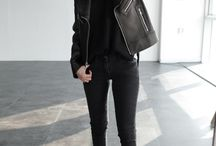 ThatLaidBackChic | Black on Black on Black / Because all black is the new black.