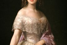 women's portraits 1850s