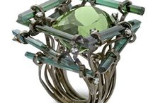 "Runway or ""out there"" jewelry / Bold, dramatic statement jewelry or unusual jewerly / by Aimee Re"