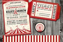 Circus Themed Wedding Ideas / Circus - or Cirque - is the current on-trend theme for weddings. Add a touch of the burlesque carnival to your special day, or go more traditionally circus big top. Either way, using circus as a theme is bound to add colour, life, and extra special memories to your big day!
