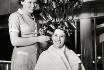Antiguas máquinas de peluquerías
