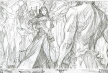 Illustrations (Pencil)