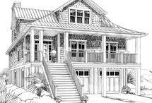 House & Beach House Plans