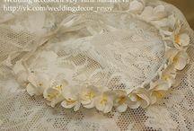 Свадебные украшения, цветы из полимерной глины, аксессуары