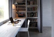 work space home office / by Tor Sittichai
