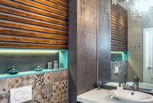 bath and toilets