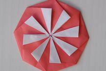 Origami oznámení/přání
