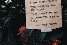 Words by Noor