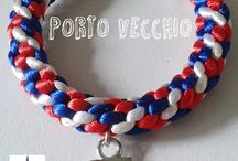 Marineras / Urban Betty Complementos. Navy bracelets. http://urbanbettycomplementos.blogspot.com.es/