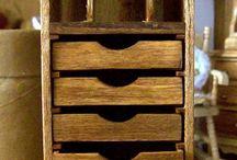 Projetos em madeira / Madeira