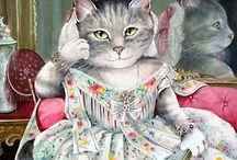 Art des chats / ce qui se  rapporte aux chats