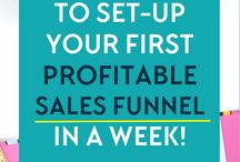 Sales Funnels | Business / Looking for some sales funnels help? Need some motivation in your business, or just help getting sales? Follow this board for tips and strategies to help your sales funnel!