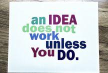 Mówiliśmy to: / Inspirujące cytaty, motywacja do działania