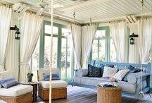 Glassed porch
