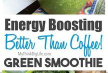Energy boosting smoothies