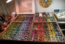 Art organizer storage and space