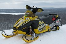 My snow mobile likes