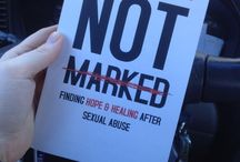 Mary DeMuth's Not Marked / Pins and quotes for Mary DeMuth's new book, Not Marked, for survivors of #sexual #abuse and those who love them. #NotMarked