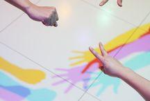 Labirynty/interaktywne powierzchnie