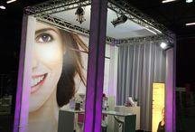 Blèzi beursstand / Blèzi stand tijdens I Love Beauty  28, 29 en 30 november 2014 in IJsselhallen - Zwolle.