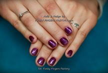 Cuccio Veneer nail by Funky Fingers Factory