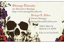 Strange Threads Updates / Updates about our shop! / by Strange Threads Etc