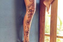 Tatuajes de pierna completa