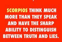 Scorpio Facts ♏ / by Rachel Dempsey