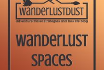 Wanderlust spaces / Pin and head to the website! -WANDERLUSTDUST- wanderlust, wanderlustdust, adventure quotes, travel quotes, quotes, life quotes, love quotes, love, adventure is calling, journey, gorgeous, universe, rasta, biracial couple, coloured, one love, backpacking, budget, travel with children, road trip, tactical clothing, bohemian, boho, boho clothing, city, town, country, luxury, luxe, travel, adventure, home decor, home decorating, tiny spaces, tiny home decor, hippie, gypsy, hippy
