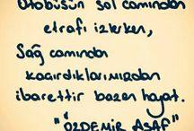 Özdemir Asaf (şiirleri)
