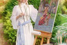 Алена Ларина - Картины