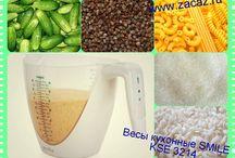 весы для кухни / Весы для кухни. С ними легко и быстро взвесить сыпучие продукты. http://zacaz.ru/products/dom-byt-kuhnya/dlya-kuhni/vesy-kuhonnye-smile-kse-3214/