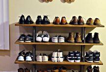 desain tempat sepatu