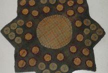 Penny rugs / by Sharon Cutbirth Hollenbeck Malenke