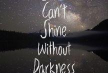 Light and dark!!