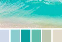 Coastal Waters / Colors of Summer at The Ocean