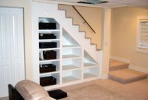 Basement ideas / by Amanda Greanya
