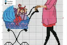 Cross stitch - pregnancy